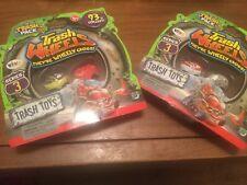 2 X Paquete de basura de la serie 3 Ruedas De Basura - 2 Paquete-Basura Juguetes-Nuevo