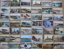 More details for tenby pembrokeshire, job lot of 83x old postcards c1900-90s
