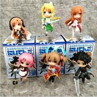 Sword Art Online girl figure PVC figures doll toy set of 6pcs model gifts gift