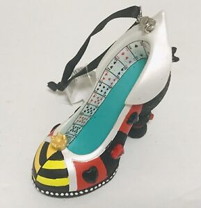 Disney Parks Queen Of Hearts Alice In Wonderland Shoe Ornament Holiday