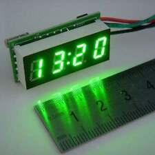 """0.30"""" Digital Clock 12V 24V Car Uhr Motorcycle LED Watch Meter 24 hour time gree"""