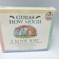 Guess How Much I Love You Music CD 3 Set Lullabies 2004 Classical Traditional