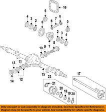 FORD OEM Rear Differential-Side Gear 9L3Z4215C