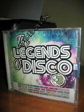 THE LEGENDS OF DISCO [VOL 3] CD NUOVO SIGILLATO