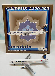 Phoenix 1:400 Mandala Air A320 PK-RMK Airbus Indonesia