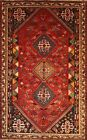 Hand-knotted Rug (Carpet) 5'4X8'5, Shiraz mint condition