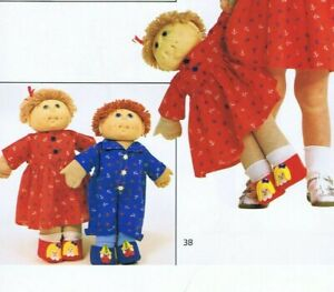 Dolls Clothes Sewing Knitting Patterns - Cabbage patch Kids & Child Quilts Tent