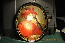 COCA-COLA CALENDAR LADY SODA TRAY -- FRESH OUT OF BOX 1987-- NEAR PERFECT!!!