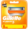 GILLETTE FUSION5 RAZOR BLADES 8-PACK, NEW SEALED & GENUINE.