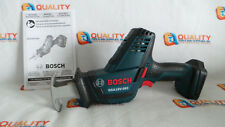 New Bosch GSA18V-083 18V Li-Ion Reciprocating Saw, Hackzall- Bare Tool