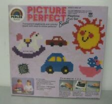Perler Bead Picture Perfect Playtime Fun Set #905 1700 Fusing Beads New