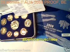 2009 10 monete 10,88 euro Fs BE PP PROOF ITALIA ITALIE ITALY Italien 5 € Nuoto