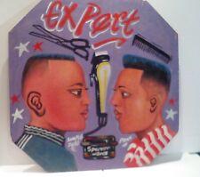 Vintage African Barber / Hairdressing Sign - Ghana, 1980s