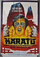 L03 - Kung Fu - KARATO Der Knochenbrecher aus Singapur - Orig. Kinoplakat