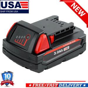 18V For Milwaukee 48-11-1828 3.0 AH Battery M18 XC Lithium 48-11-1850 48-11-1830