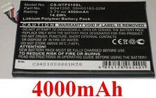 Batterie 4000mAh type 35H00163-00P 35H00163-02M BG41200 Pour HTC Flyer