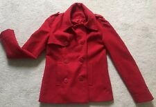 Red Coat Winter jacket Women UK Size S Great Condition.