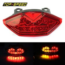 Motorcycle LED EURO Style Taillight with Turn Signal Rear Brake Light For Z1000