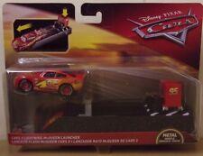 Disney Pixar Cars ~ Cars 3 Lightning McQueen lanzador ~ Fundición Vehículo