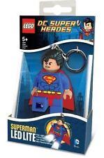 Lego Dc Universe Super Heroes: Superman LED Luz De Lite-Key Chain Nuevo