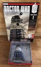 DOCTOR DR WHO Supreme Rare Dalek 1 Figure/Figurine & Mag Master Plan Eaglemoss