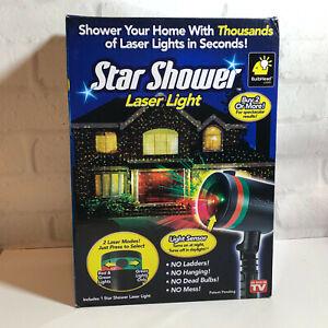 Star Shower Laser Light Christmas Holiday BulbHead