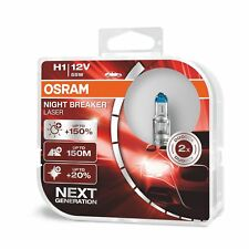 OSRAM NIGHT BREAKER LASER H1 next Generation +150% mehr Helligkeit Halogen-Sc...