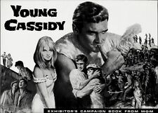 YOUNG CASSIDY pressbook, (John Ford film), Rod Taylor, Julie Christie