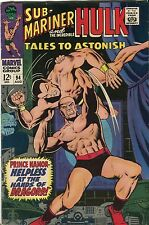 """Tales To Astonish #94 - Sub-Mariner & Hulk """"Helpless At The Hands Of?"""" - (7.0)W"""