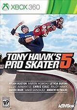 Tony Hawk's Pro Skater 5 (Xbox 360) *Brand New & Factory Sealed* Free Shipping!