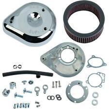 S&S Cycle 170-0305B Teardrop Air Cleaner Kit - Chrome