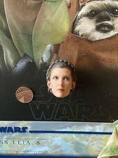 Hot Toys Star Wars ROTJ Leia Endor MMS551 Head Sculpt loose 1/6th scale