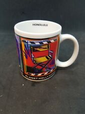 Planet Hollywood Honolulu Mug Movies Film Director's Chair Camera Colorful New