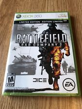 Battlefield: Bad Company 2 Limited Edition Xbox 360 New Sealed ES