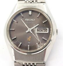 SCARCE VINTAGE SEIKO ELNIX 16J QUARTZ 0703-7110 DAY DATE MENS WATCH.