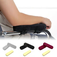 1/2Pcs Memory Foam Chair Armrest Pad Office Chair Arm Soft Elbow Cover Protector