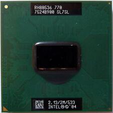 INTEL PENTIUM M770 2,13 GHZ CPU DELL D510 LATITUDE D610 D810 120L 1300 M70 M20
