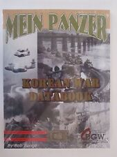 Mein Panzer Korean War Data Book - Supplement -  by Old Dominion GameWorks