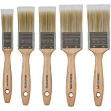 HAMILTON 23140-005 PRESTIGE SYNTHETIC BRISTLE FLAT PAINT BRUSH 5PC SET