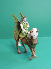 Schleich 70401 Figurine Bayala cavalier Falaroy sur cheval /Elfe/Elf