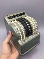 Rare 1960s Antique Desktop Calculator Adding Machine Hoffritz made West Germany