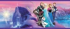 Eiskönigin Bordüre SELBSTKLEBEND 10m(1,79€m) Kinder Tapete Zimmer Sticker Elsa