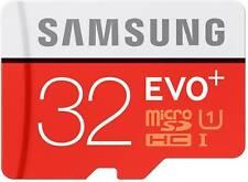 Samsung 32GB EVO+ MicroSD SDXC OEM Memory Card for Camera Galaxy Note S8 S7 S6
