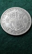 1929 George V Half Crown  500 Half  Silver