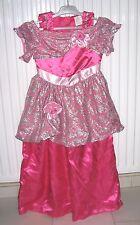 Robe de princesse fille en satin rose 5 – 7 ans