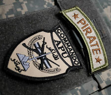 KANDAHAR WHACKER JSOC AFGHANISTAN NATIONAL ARMY SSI: COMMANDO APU + PIRATE TAB
