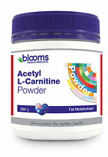 BLOOMS ACETYL L-CARNITINE 250G POWDER