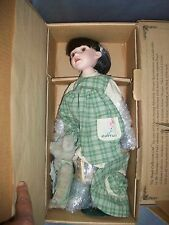 """YESTERDAY'S CHILD BOYDS PORCELAIN DOLL """"MOLLY"""" LIMITD Edition W/ BOX"""