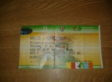 WALES V FINLAND 10 SEPTEMBER 2003 TICKET EURO QUALIFYING MATCH CARDIFF SWANSEA