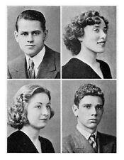1937 Brooklyn NY Erasmus Hall High School Yearbook~Photos~HIstory~Graduates~++++